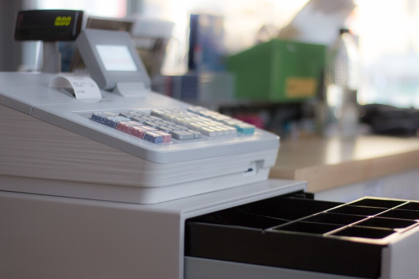 state and local taxes cash register