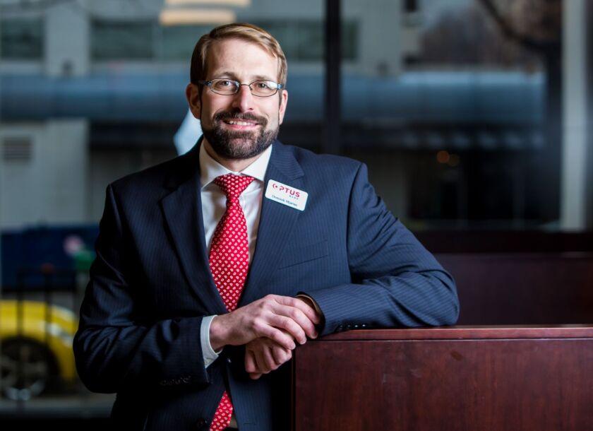 Dominik Mjartan, president and CEO, Optus Bank