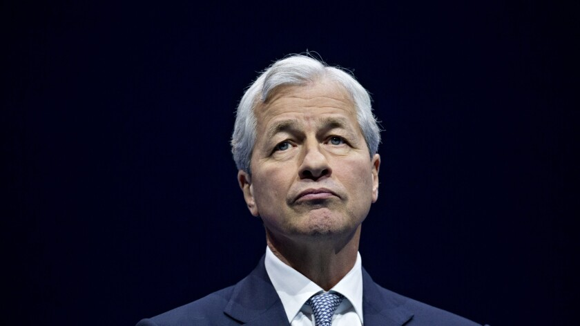 Jamie Dimon, chairman and chief executive officer of JPMorgan Chase.