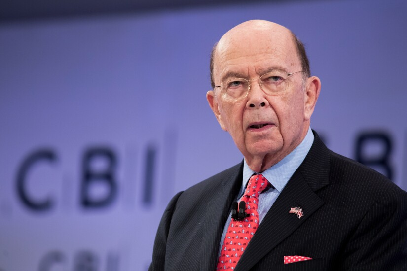 Wilbur Ross, U.S. commerce secretary, speaks at the Confederation of British Industry (CBI) Annual Conference in London.