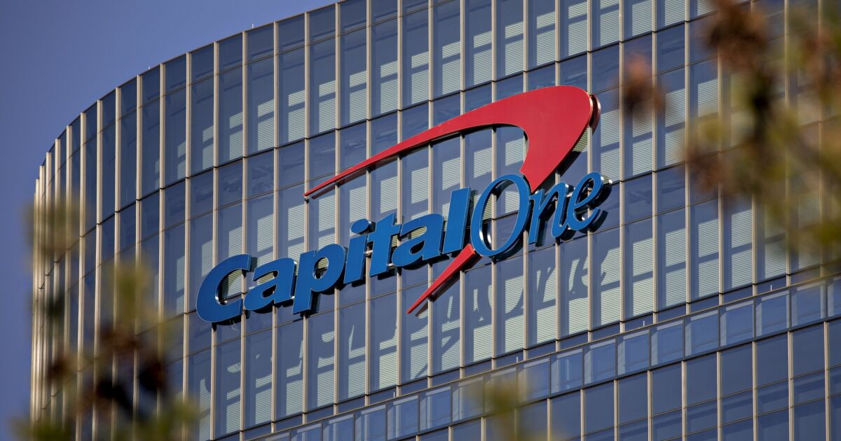 Capital One`s 4Q profit buoyed by strong credit...