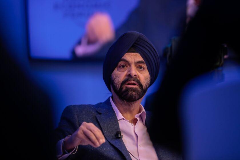 Mastercard CEO Ajay Banga
