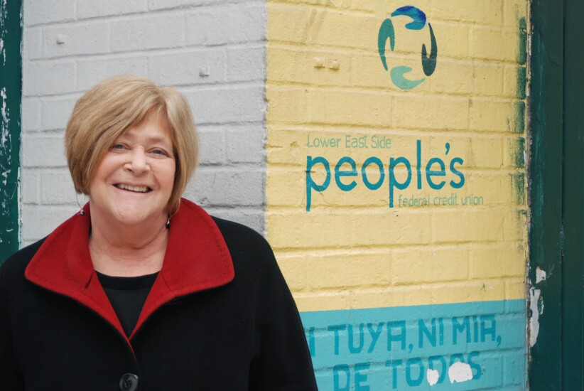 Linda Levy, CEO of Lower East Side People's Federal Credit Union