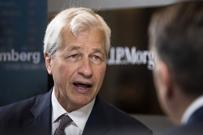 "JPMorgan Chase CEO Jamie Dimon says he has ""never coveted"" the job of Treasury Secretary."
