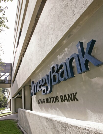 Amegy bank by Bloomberg News