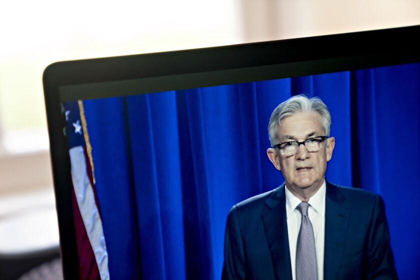 """Lots and lots of companies are getting financed, the banks are lending, the markets are open [and] you have a much easier lending climate certainly than we had in February and March,"" said Fed Chairman Jerome Powell."