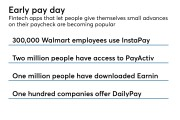 Payday advances