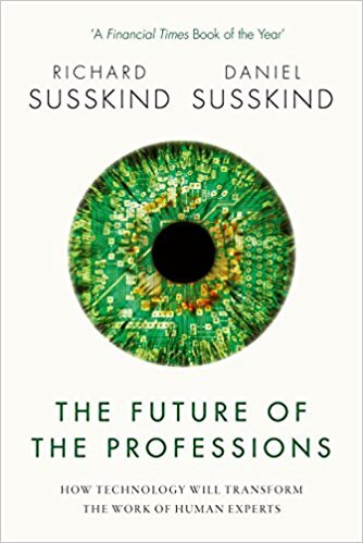 Book cover - Future of the Professions