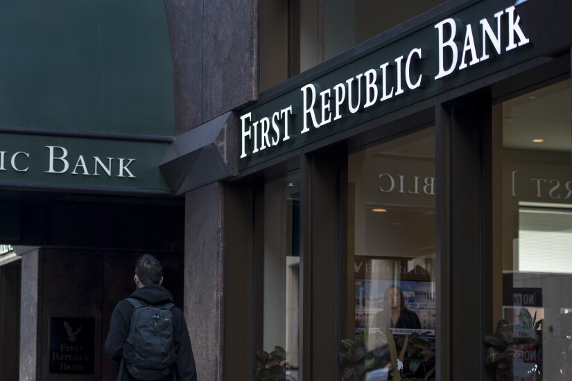 A First Republic Bank branch.