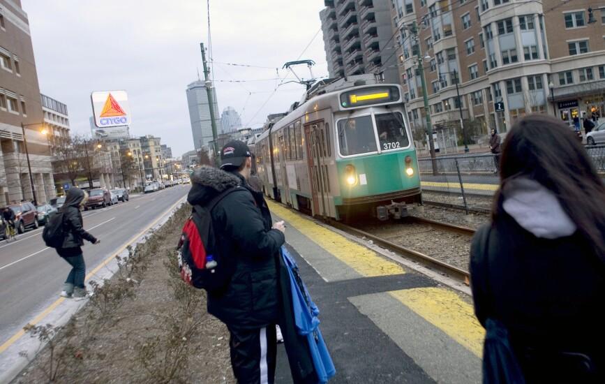 Boston transit