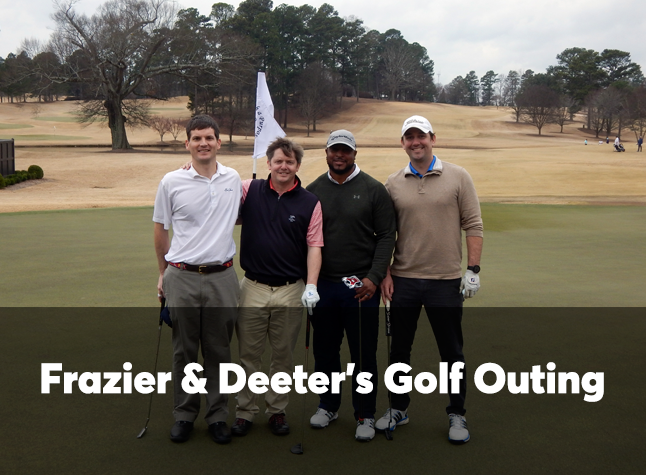 Frazier & Deeter Golf Outing intro slide