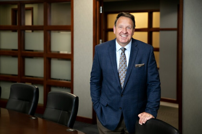 Frank Weidner, president and CEO of Wings Financial Credit Union