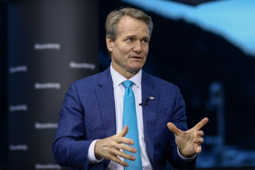 """To get done what the government wanted us to do on PPP, we had to put on several thousand extra people, through consultants and others to process 320,000-plus completed loans,"" said Bank of America CEO Brian Moynihan."