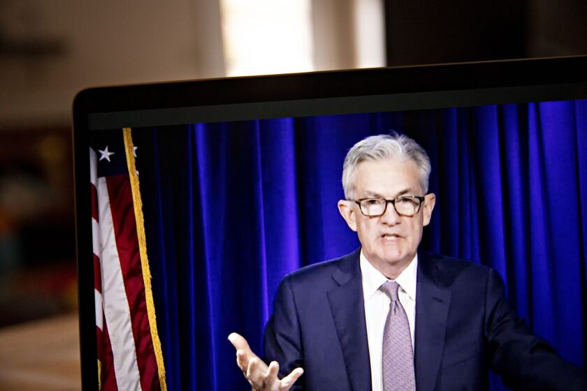"""""""I'm very reluctant as you will imagine to comment on the election directly, indirectly, at all, other than just to say that it's a good time to take a step back and let the institutions of our democracy do their jobs,"""" said Fed Chair Jerome Powell."""