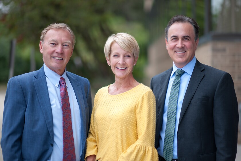 Robert Loupee, Barbara Pesci and Michael Graziani of the Loupee/Graziani Wealth Management Group joined RBC in Bloomfield Hills, Michigan.