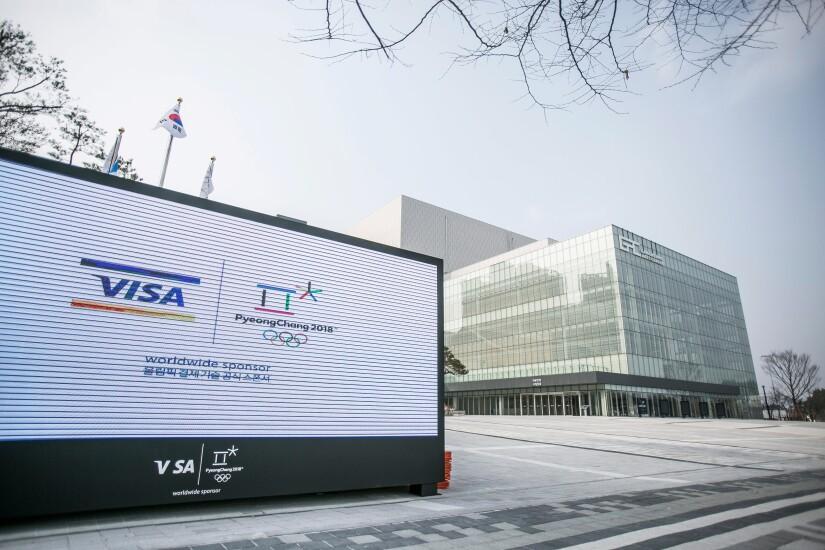 Visa sponsorship at the 2018 Winter Olympics