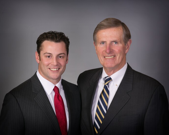 Leo Connors and Leo Connors, Jr.  Janney Montgomery Scott financial advisors