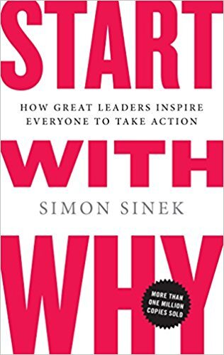 Book cover - Start with Why