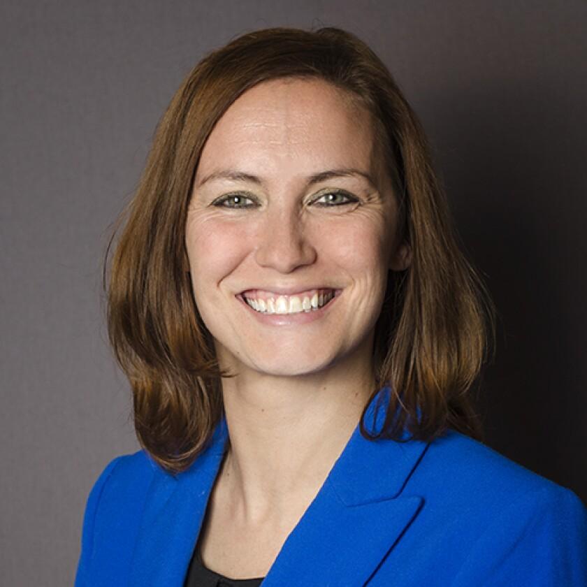 April Tompkins, CEO of Explorers Credit Union