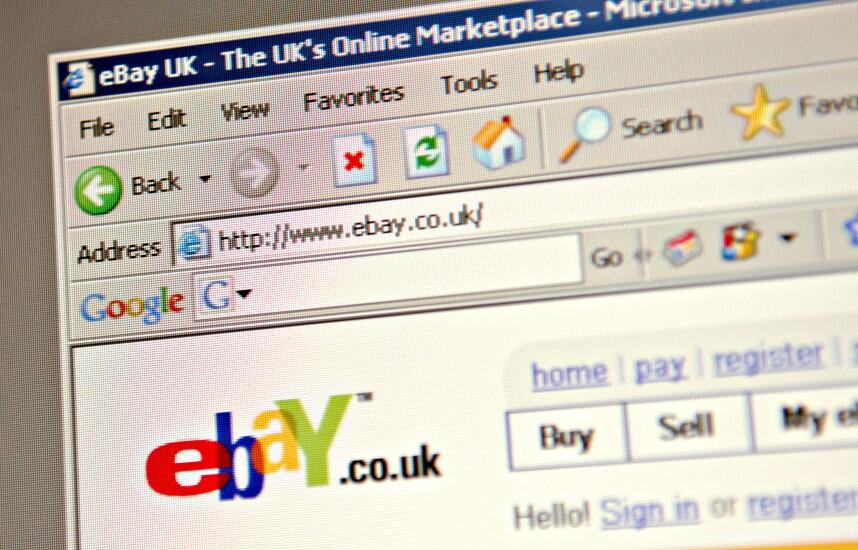 eBay website, 2006