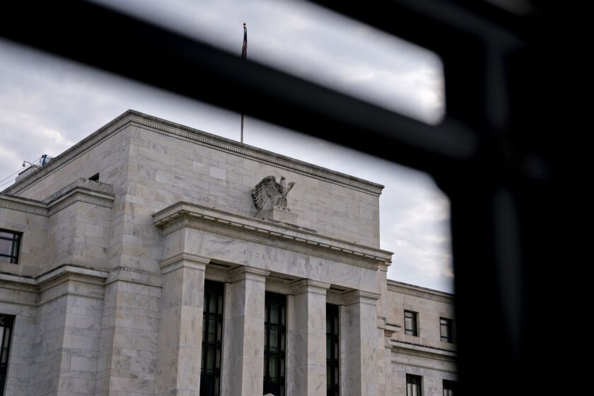 The Fed said Friday that earnings of large U.S. banks decreased by more than 50% during the first quarter of 2020 compared to the first quarter of 2019, largely due to higher provisions for loan losses.