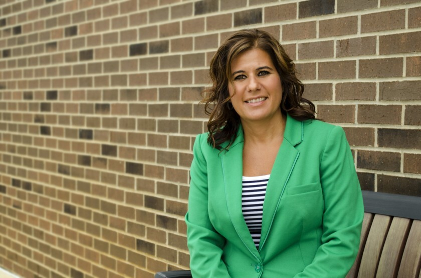 Chrissy Siders, president and CEO of CP Financial Credit Union in Jackson, Mich.