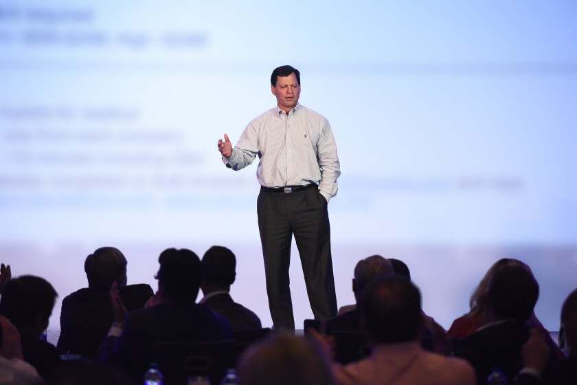 Frank Bisignano, chairman and CEO, First Data