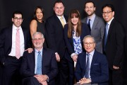 After more than a decade with Wells Fargo, a nine-member team moved its practice to Raymond James for its corporate culture and platform. Left to right: (Seated) Stephen Adler, Mark Levy, (Standing) Michael Lubin, Allison Guzman, Christopher Swanson, Loriann Montanez, Stephen Orzo, Roger Jee