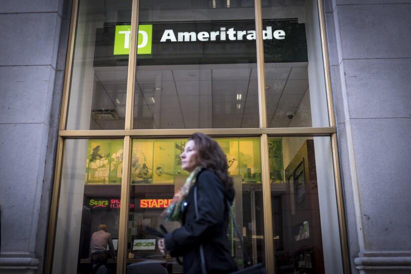 TD Ameritrade TDAI woman Bloomberg April 22, 2019