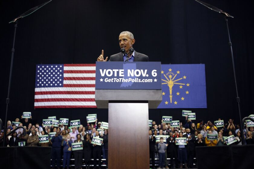 """In the years since I left office, the same forces that opposed us back then have been doing their best to undermine the law,"" Obama said during the event hosted by Better Markets. ""And while they've had some successes, the core of Wall Street reform remains intact."""