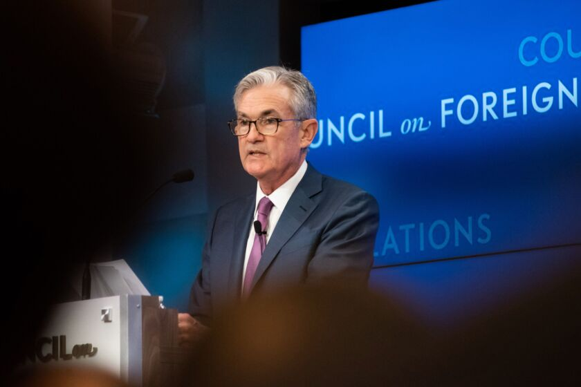 """""""Many companies that would've had to come to the Fed have now been able to finance themselves privately since we announced the initial term sheet on these facilities,"""" Fed Chair Jerome Powell said in late April regarding its primary- and secondary-market corporate credit facilities."""