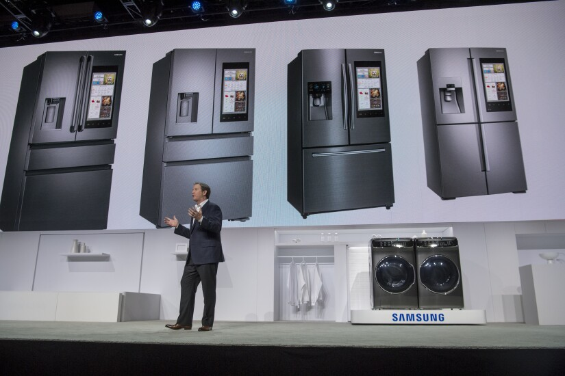 samsung smart refrigerators