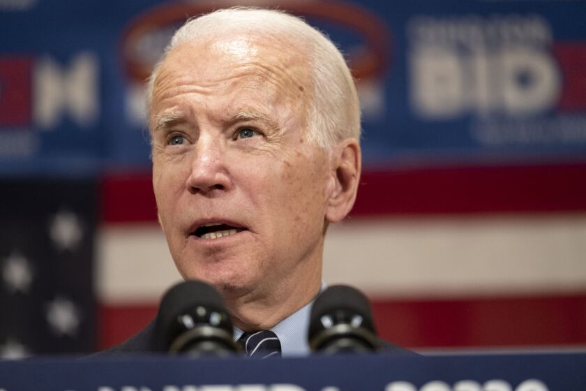 "Former Vice President Joe Biden, the presumptive Democratic presidential nominee, released policy recommendations developed by a ""unity task force"" with Bernie Sanders."
