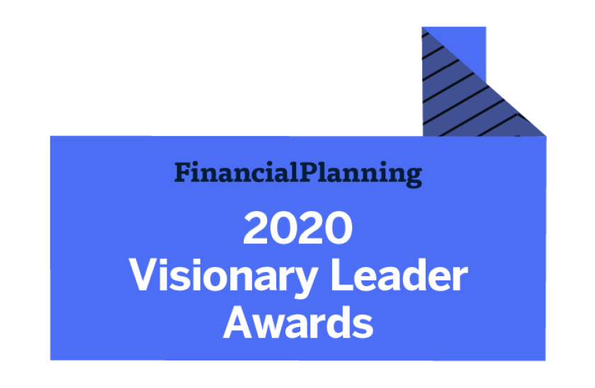 Financial Planning's Visionary Leader Awards