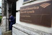 Man walking past entrance Bank of America Merrill Lynch in London Oct. 9, 2014 Bloomberg News