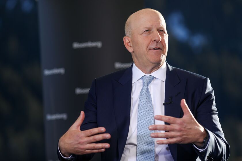 CEO David Solomon said that the Apple Card the fastest-growing credit card of all time.