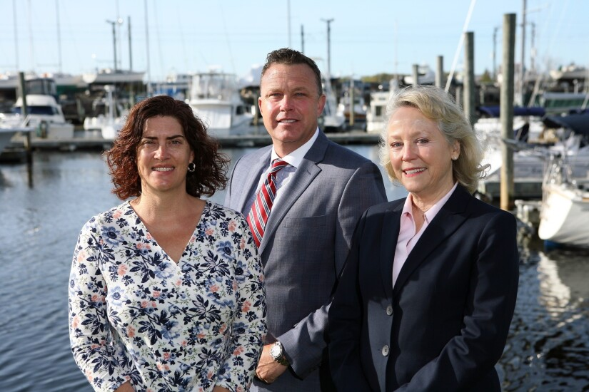 June Strunk and Shane O'Brien operate Janney's branch in Mystic, Connecticut.