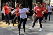 HSBC dancers