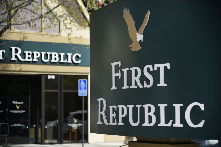 San Francisco-based First Republic is the first U.S. bank to report fourth-quarter earnings.