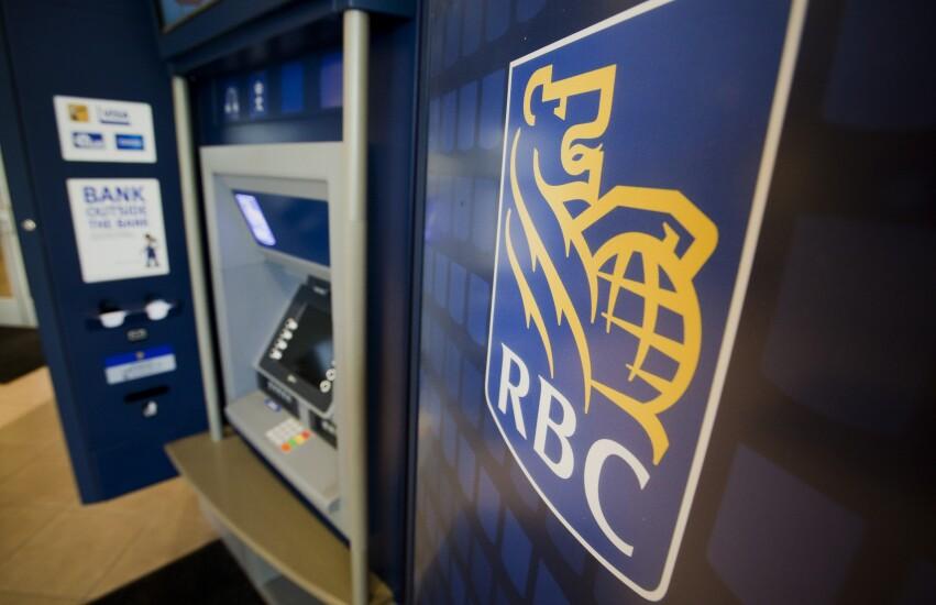 An RBC ATM