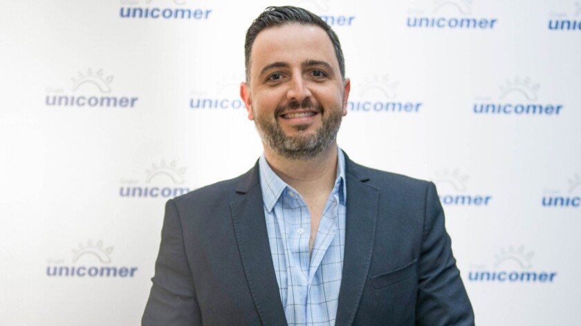 Félix Siman, Unicomer's vice president of innovation.